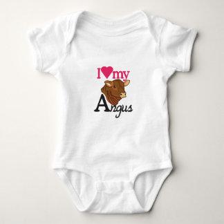 I Love My Angus Baby Bodysuit