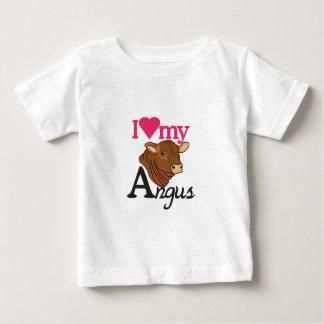 I Love My Angus Baby T-Shirt