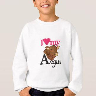 I Love My Angus Sweatshirt