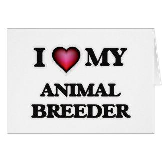 I love my Animal Breeder Card