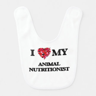 I love my Animal Nutritionist Baby Bib