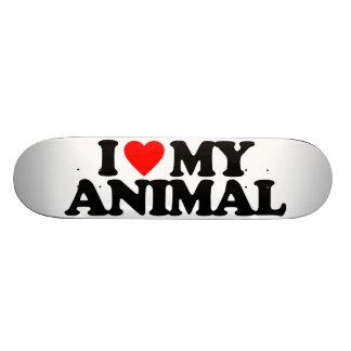 I LOVE MY ANIMAL SKATEBOARD DECKS