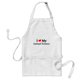 I love my Animal Trainer Adult Apron