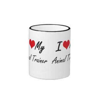 I love my Animal Trainer Ringer Coffee Mug