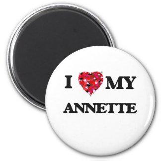 I love my Annette 2 Inch Round Magnet
