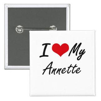 I love my Annette 2 Inch Square Button