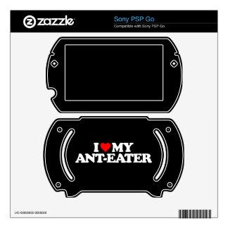 I LOVE MY ANT-EATER SONY PSP GO SKINS