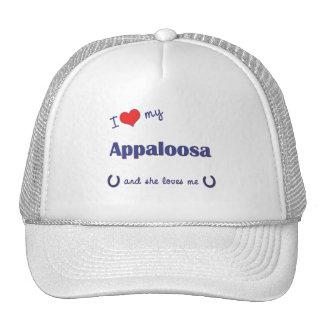 I Love My Appaloosa (Female Horse) Trucker Hat