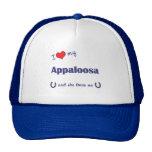I Love My Appaloosa (Female Horse) Trucker Hats