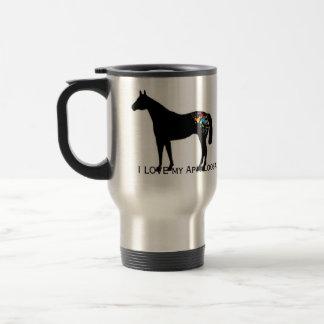 I LOVE my Appaloosa. Coffee Mugs