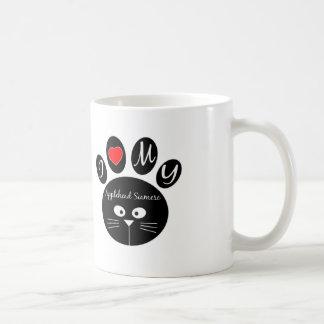 i love my Applehead siamese. Classic White Coffee Mug