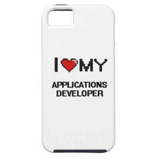 I love my Applications Developer iPhone 5 Cases