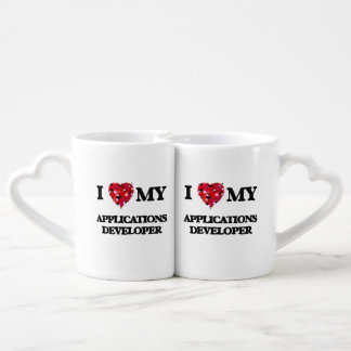 I love my Applications Developer Couples' Coffee Mug Set