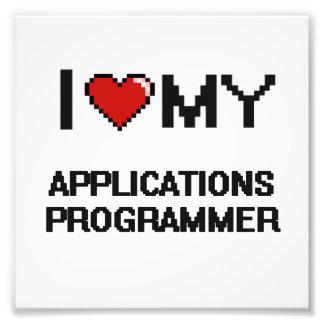 I love my Applications Programmer Photo Art