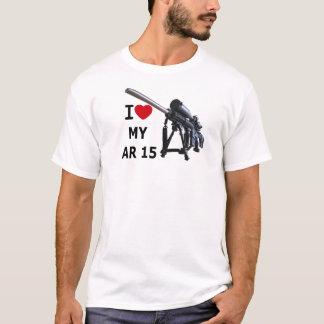 I Love My AR-15!\ T-Shirt