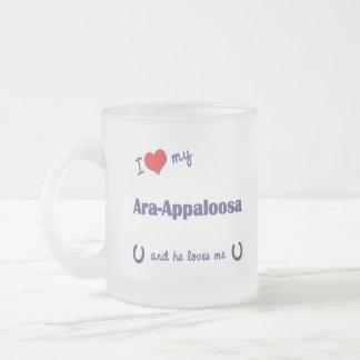 I Love My Ara-Appaloosa (Male Horse) Mug