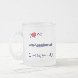 I Love My Ara-Appaloosas (Multiple Horses) Mug