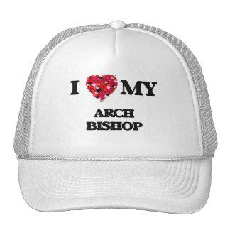 I love my Arch Bishop Trucker Hat