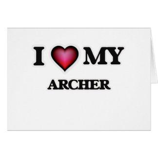 I love my Archer Card