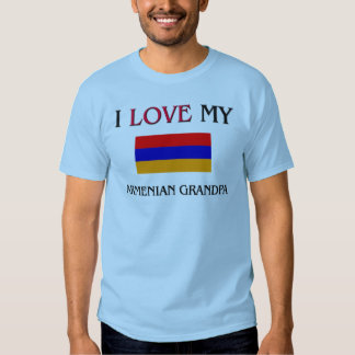 I Love My Armenian Grandpa Shirt