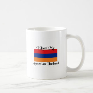 I love my Armenian Husband Classic White Coffee Mug