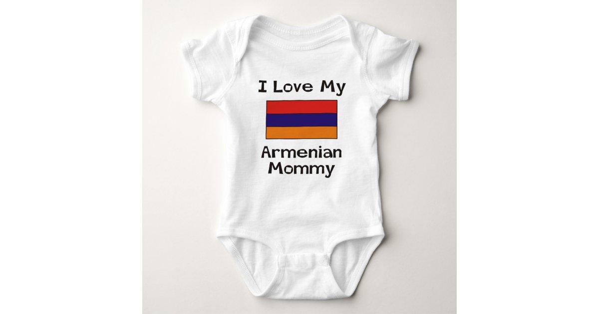 GR000404 /'I Love Armenia/' Baby Body Unisex