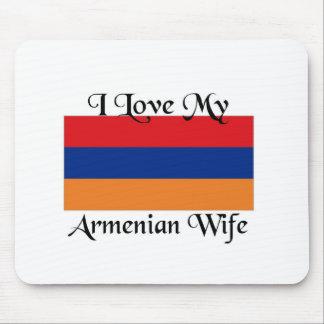 I love My Armenian wife Mouse Pad