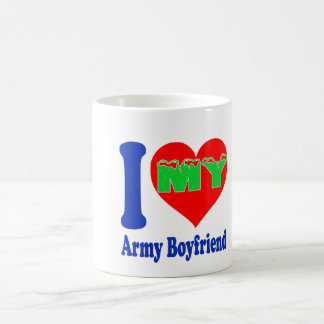 I love my Army Boyfriend Classic White Coffee Mug