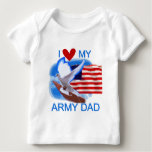 I Love My Army Dad Tshirts and Gifts