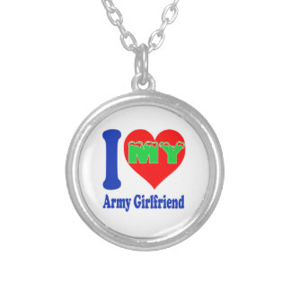 I love my Army Girlfriend. Custom Necklace