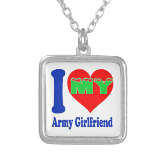 I love my Army Girlfriend. Pendants