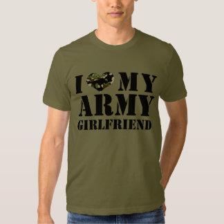 i love my army girlfriend t-shirt