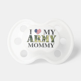 I Love My Army Mommy Pacifier
