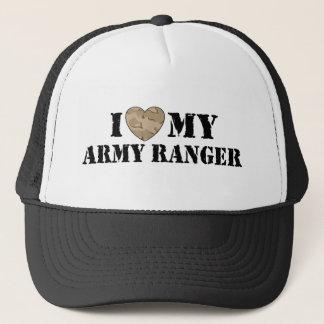I Love My Army Ranger Trucker Hat