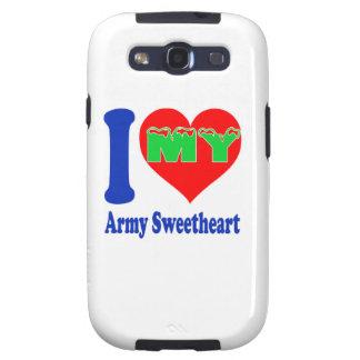 I love my Army Sweetheart. Galaxy S3 Case