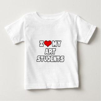 I Love My Art Students Infant T-shirt