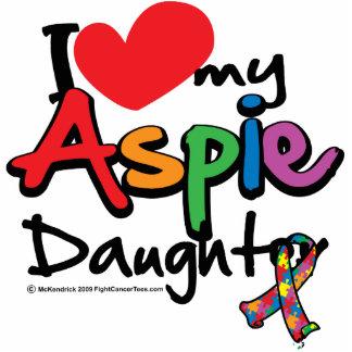 I Love My Aspie Daughter Standing Photo Sculpture