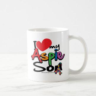 I Love My Aspie Son Coffee Mug