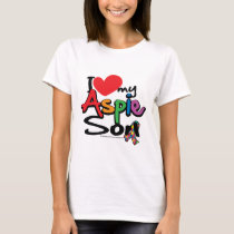 I Love My Aspie Son T-Shirt