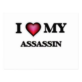 I love my Assassin Postcard