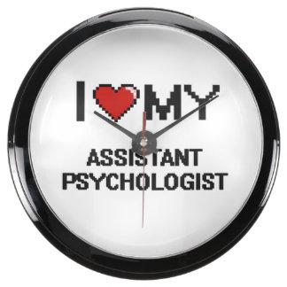 I love my Assistant Psychologist Aquarium Clock