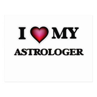 I love my Astrologer Postcard