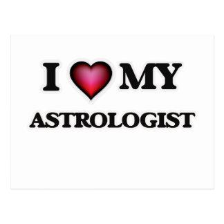 I love my Astrologist Postcard