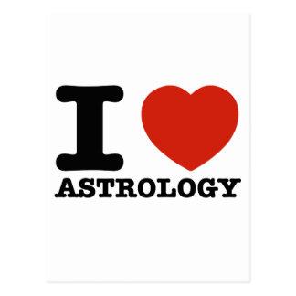 I love my Astrology Postcard