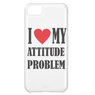 I Love My Attitude Problem Case For iPhone 5C