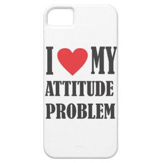 I Love My Attitude Problem iPhone SE/5/5s Case