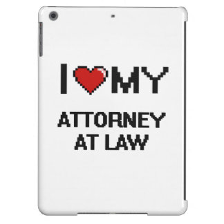 I love my Attorney At Law Cover For iPad Air