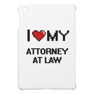 I love my Attorney At Law iPad Mini Covers