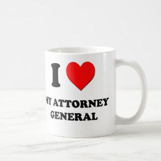 I Love My Attorney General Classic White Coffee Mug