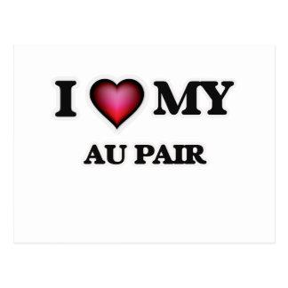 I love my Au Pair Postcard